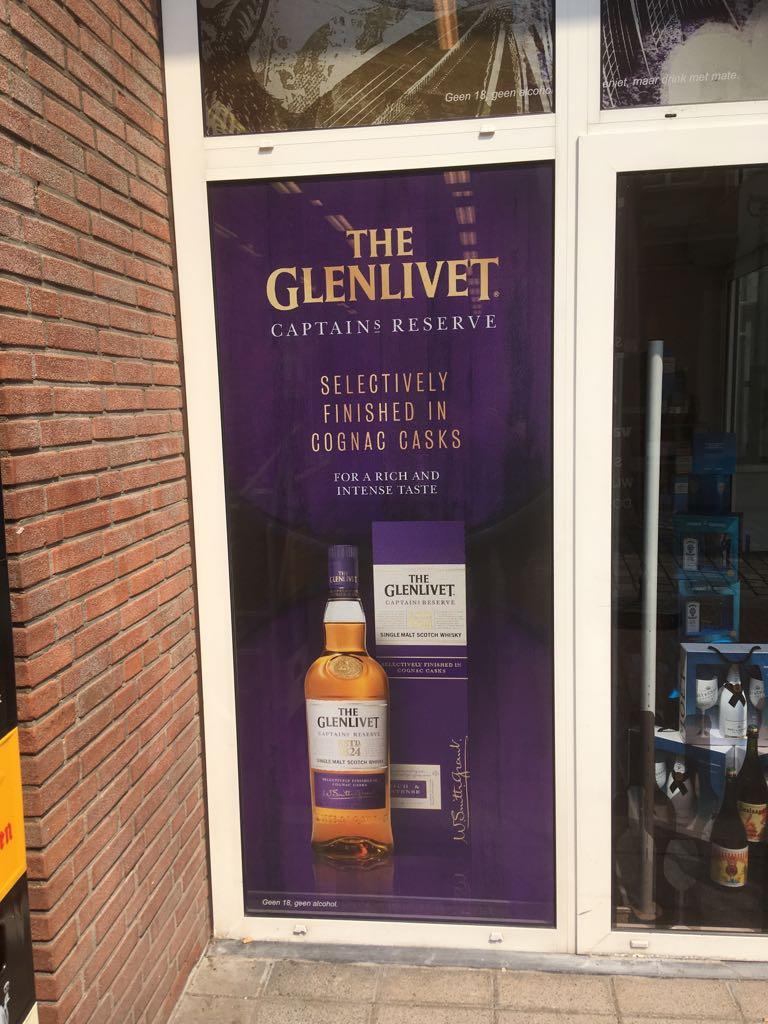 Slijterij The Glenlivet Signing | Trim-Line Zevenbergen