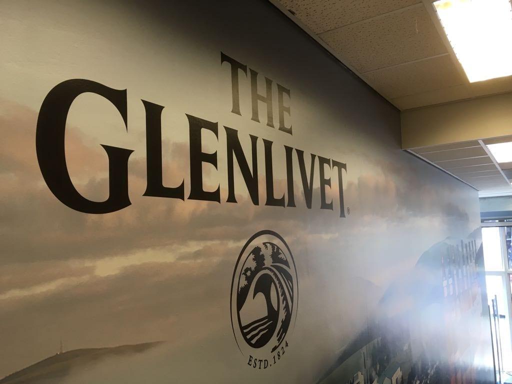The Glenlivet Wallwrap | Trim-Line Zevenbergen