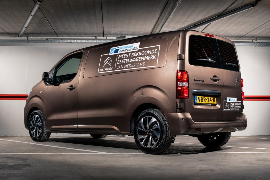 Citroën Bedrijfswagen van het jaar 2020 Wrapping | Trim-Line Zevenbergen