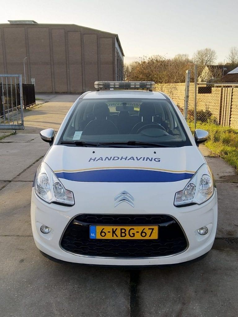 Autowrap Handhaving Gemeente Steenbergen | Trim-Line Zevenbergen