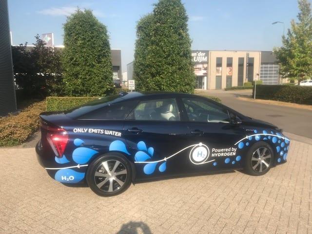 Carwrap Powered by Hydrogen | Trim-Line Zevenbergen