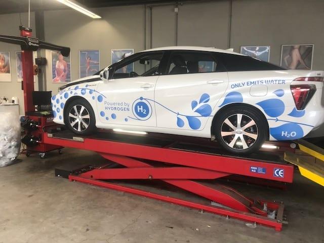 Carwrapping Powered by Hydrogen | Trim-Line Zevenbergen