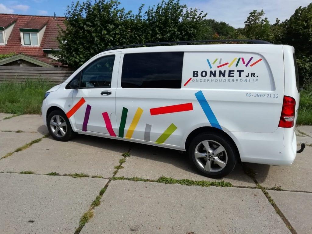 Belettering Voertuigen Bonnet | Trim-Line Zevenbergen