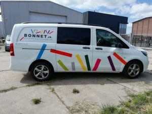 Bonnet Onderhoudsbedrijf Belettering | Trim-Line Zevenbergen