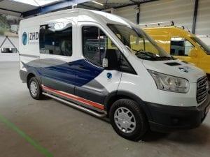 ZHD Bus belettering | Trim-Line Zevenbergen