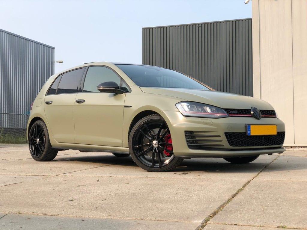 Volkswagen Golf GTI Carwrap | Trim-Line Zevenbergen