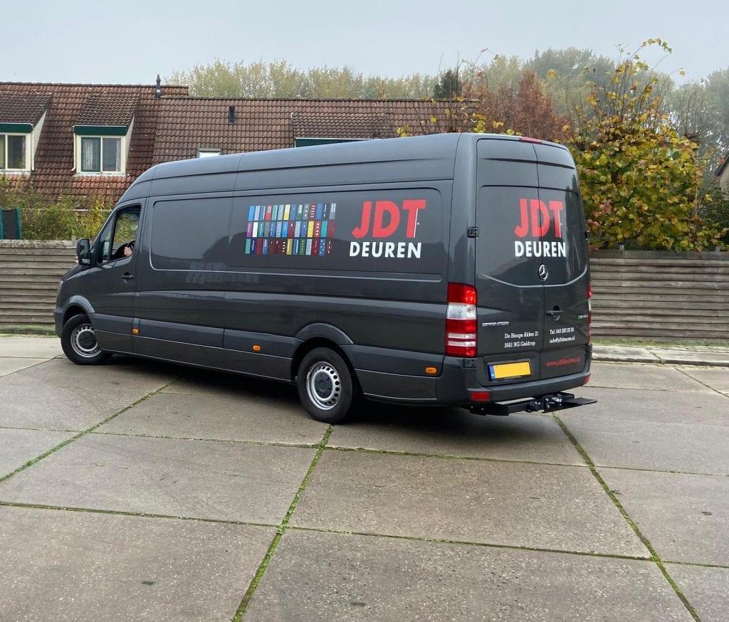 Wrapping Bus JDT Deuren | Trim-Line Zevenbergen