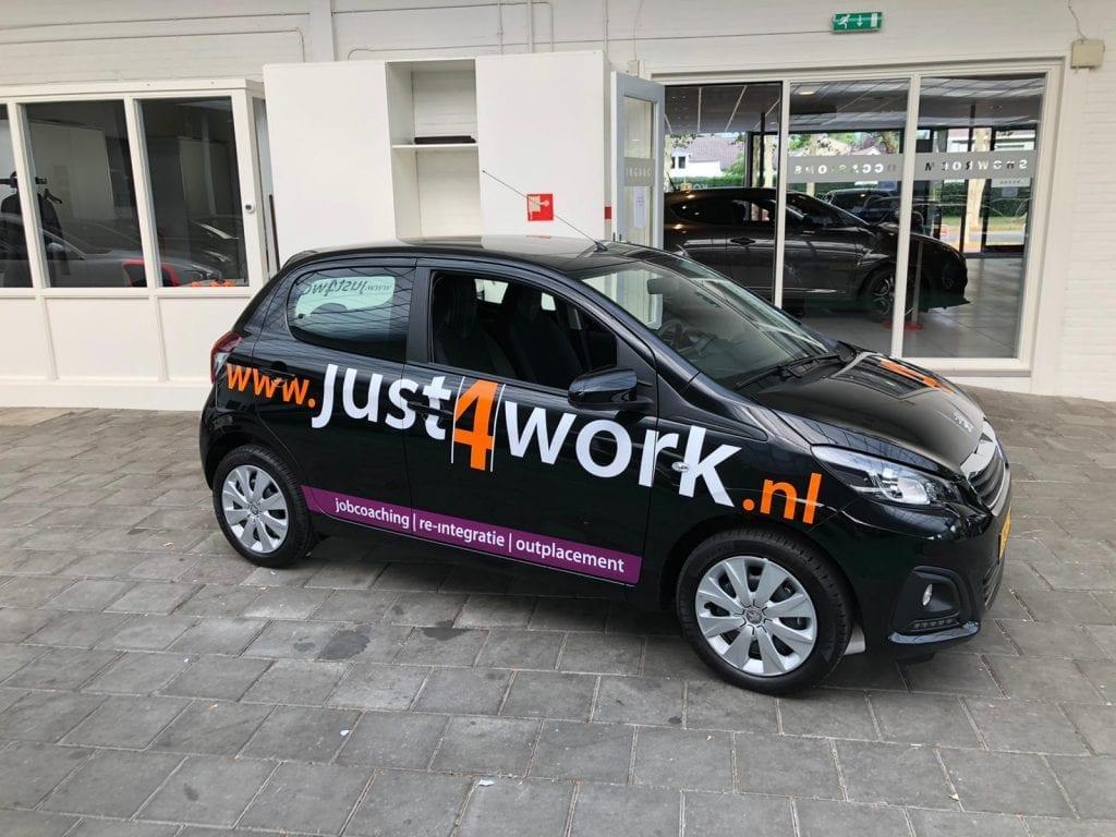 Carwrap Just 4 Work | Trim-Line Zevenbergen