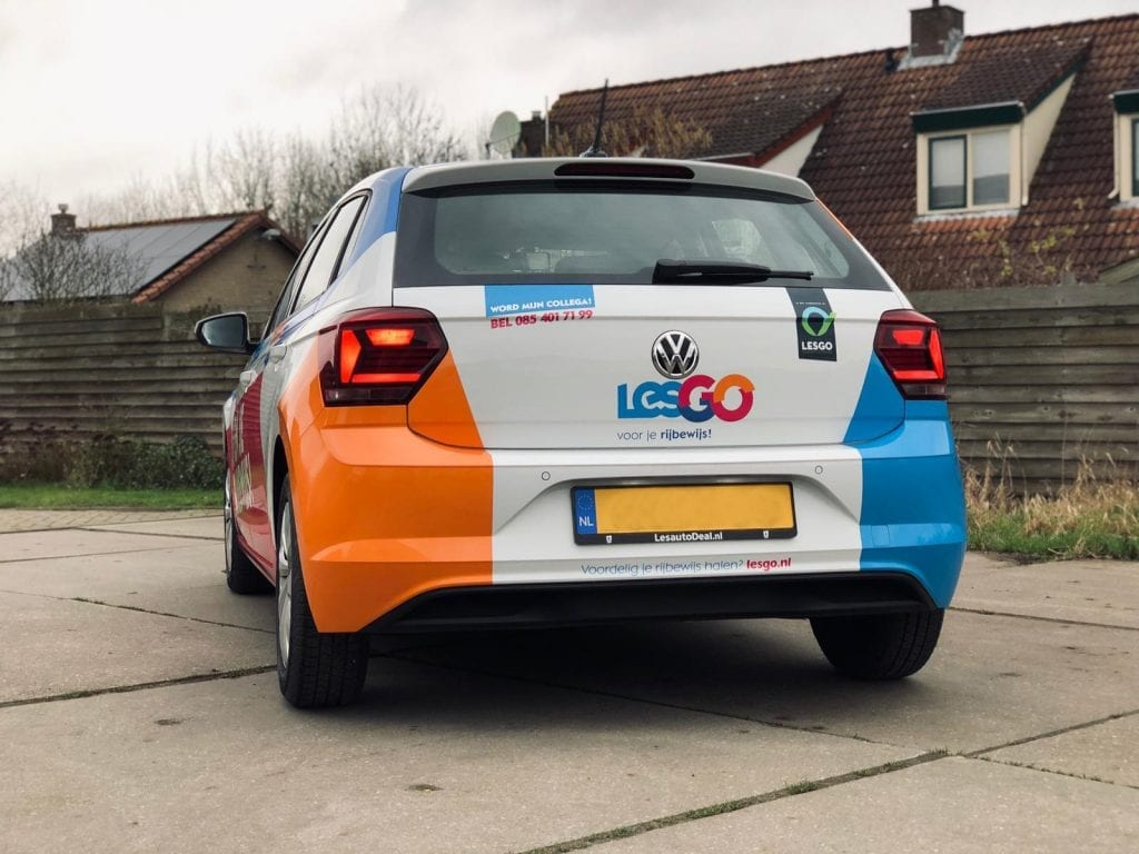 Lesgo Car Wrap   Trim-Line Zevenbergen