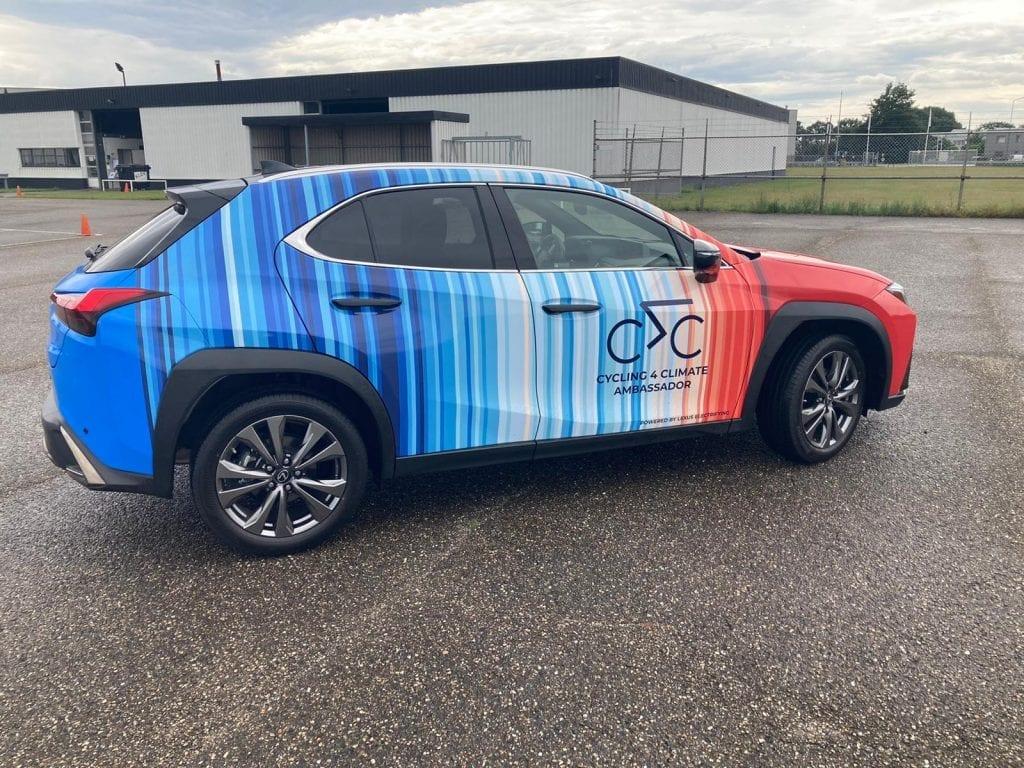 Carwrap Lexus Climate | Trim-Line Zevenbergen