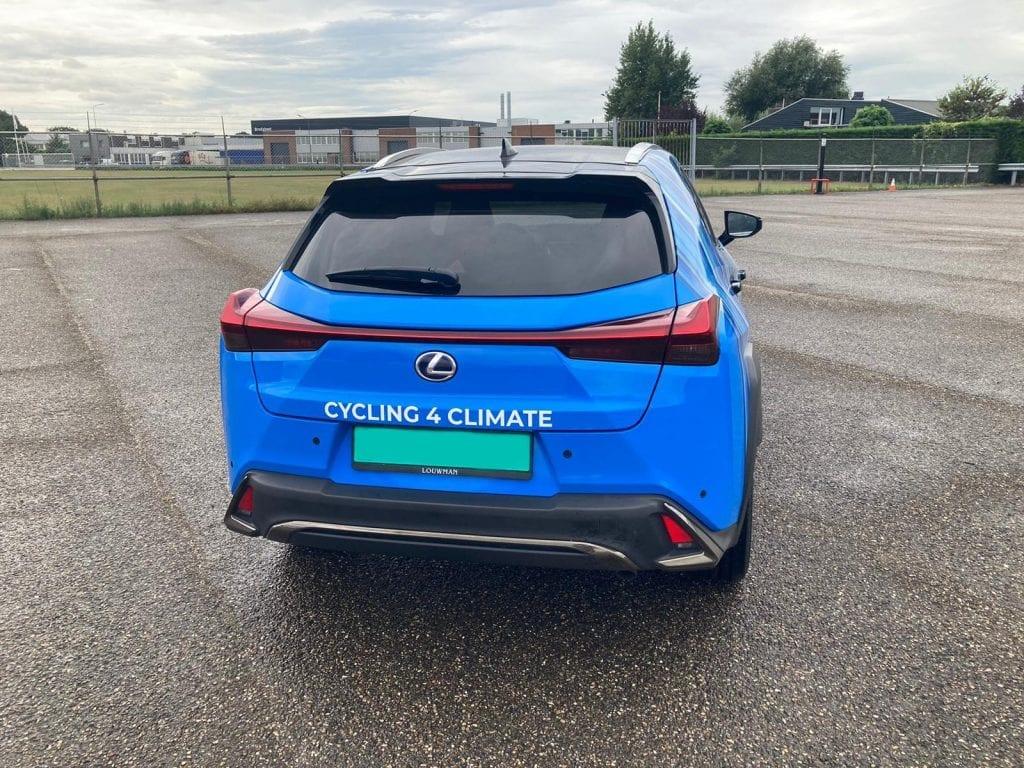 Cycling 4 Climate Lexus wrap | Trim-Line Zevenbergen