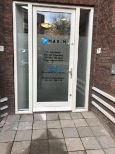 Voordeur Wrap Maxim Dental | Trim-Line Zevenbergen