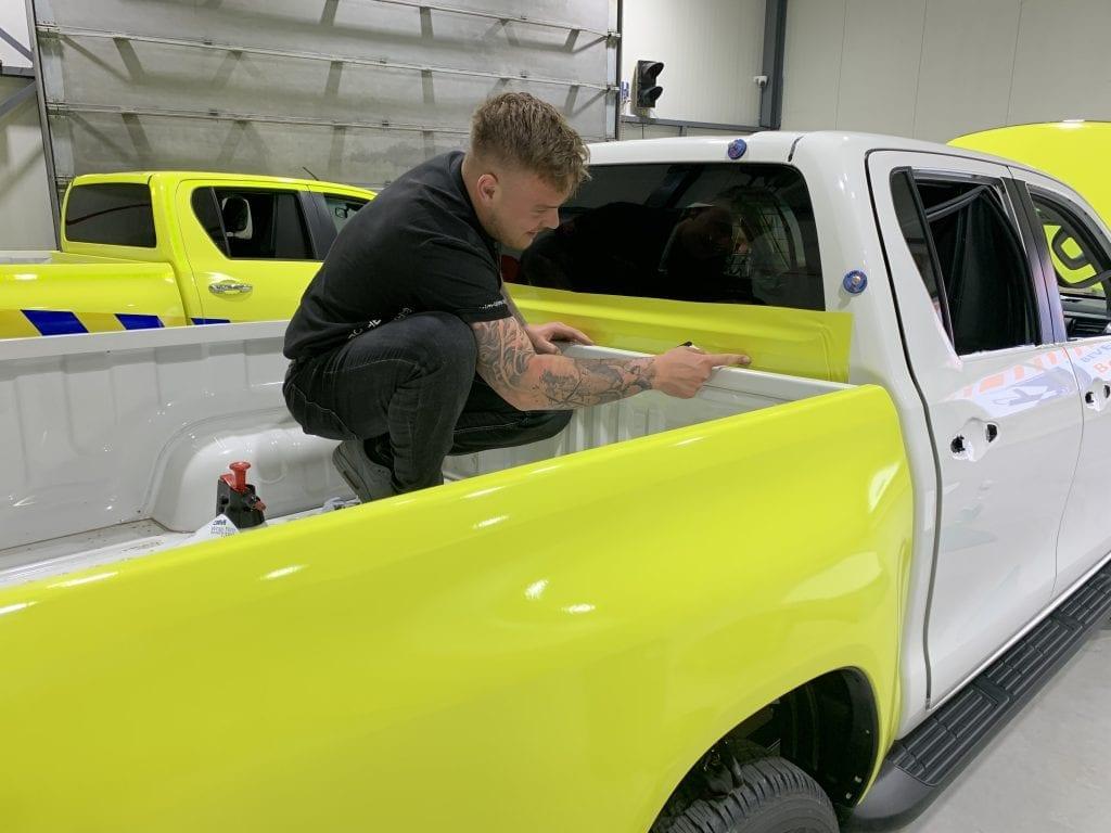 Carwrapping Proces | Trim-Line Zevenbergen