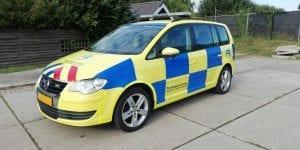 PDS Rijopleidingen Carwrap VW Touran | Trim-Line Zevenbergen