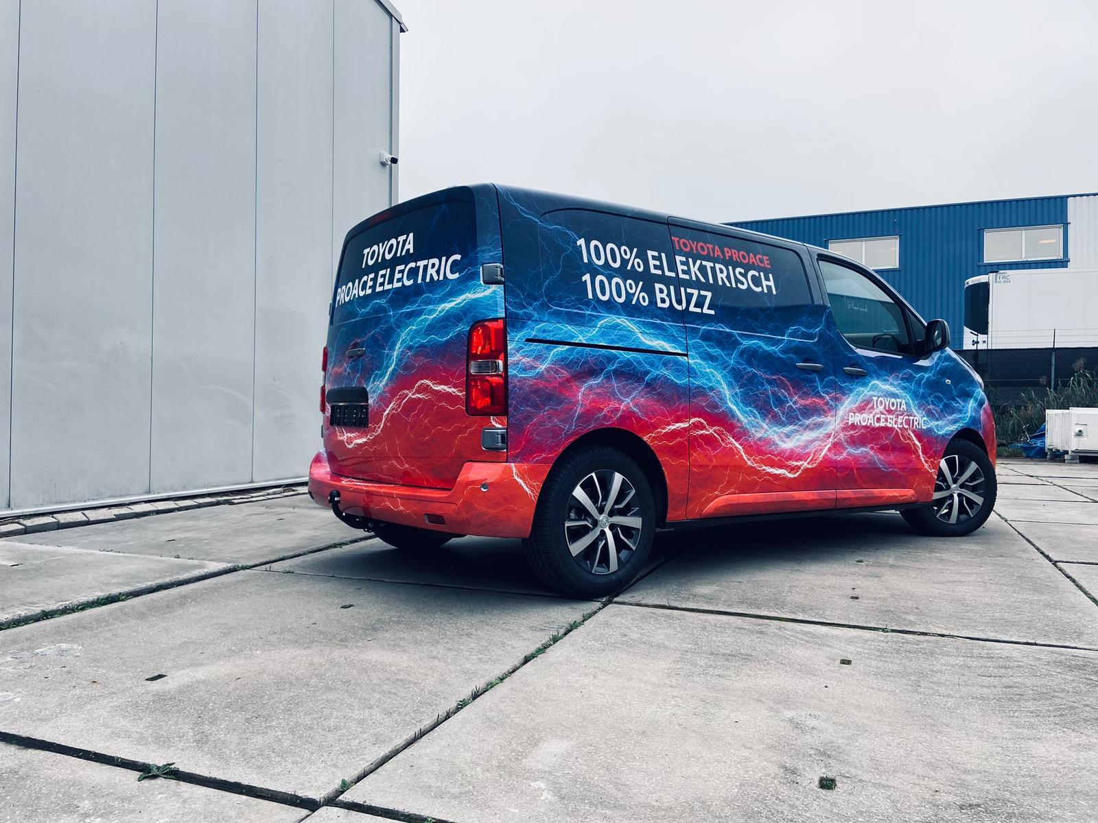 ProAce Electric Bus Wrap | Trim-Line Zevenbergen