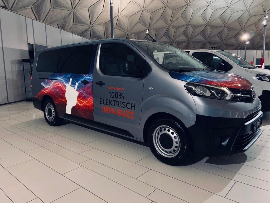 Carwrapping ProAce Electric | Trim-Line Zevenbergen