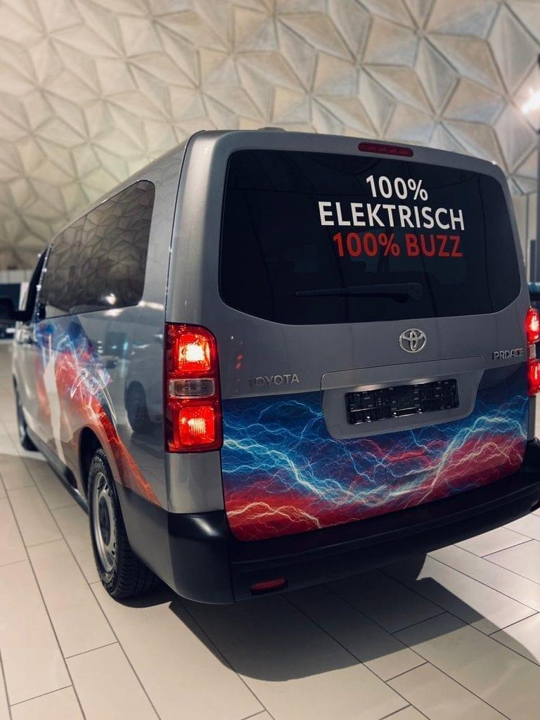 Autowrap ProAce Electric | Trim-Line Zevenbergen