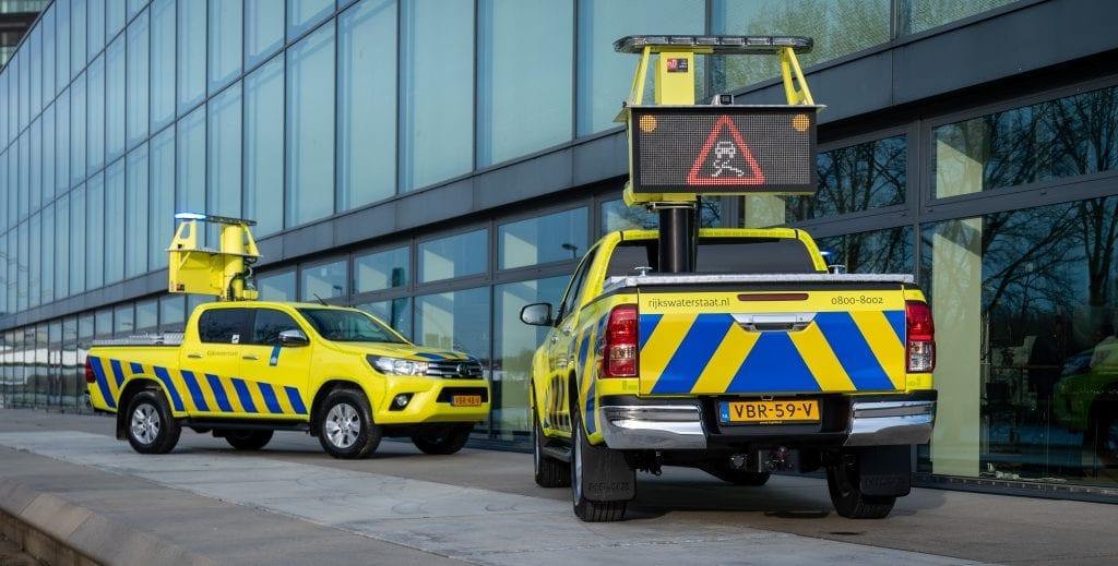 Bedrijfswagens Rijkswaterstaat Wrapping | Trim-Line Zevenbergen
