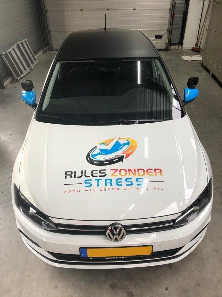 Carwrap Rijles Zonder Stress   Trim-Line Zevenbergen