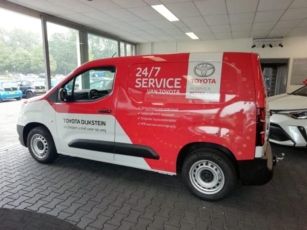 Wrap ProAce Servicewagen   Trim-Line Zevenbergen