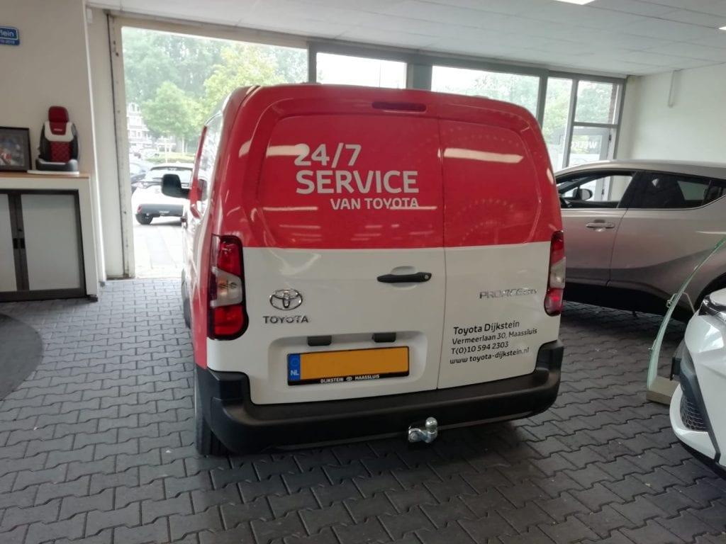 Bus ProAce Wrapping   Trim-Line Zevenbergen