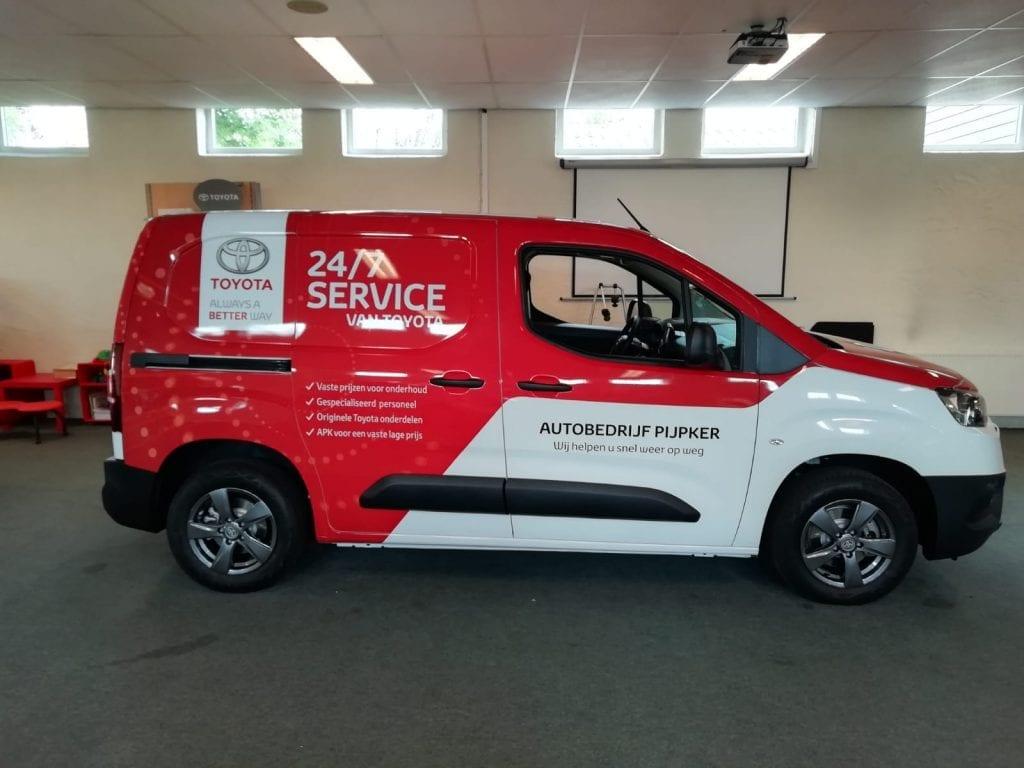 Servicewagens ProAce City Wrap   Trim-Line Zevenbergen