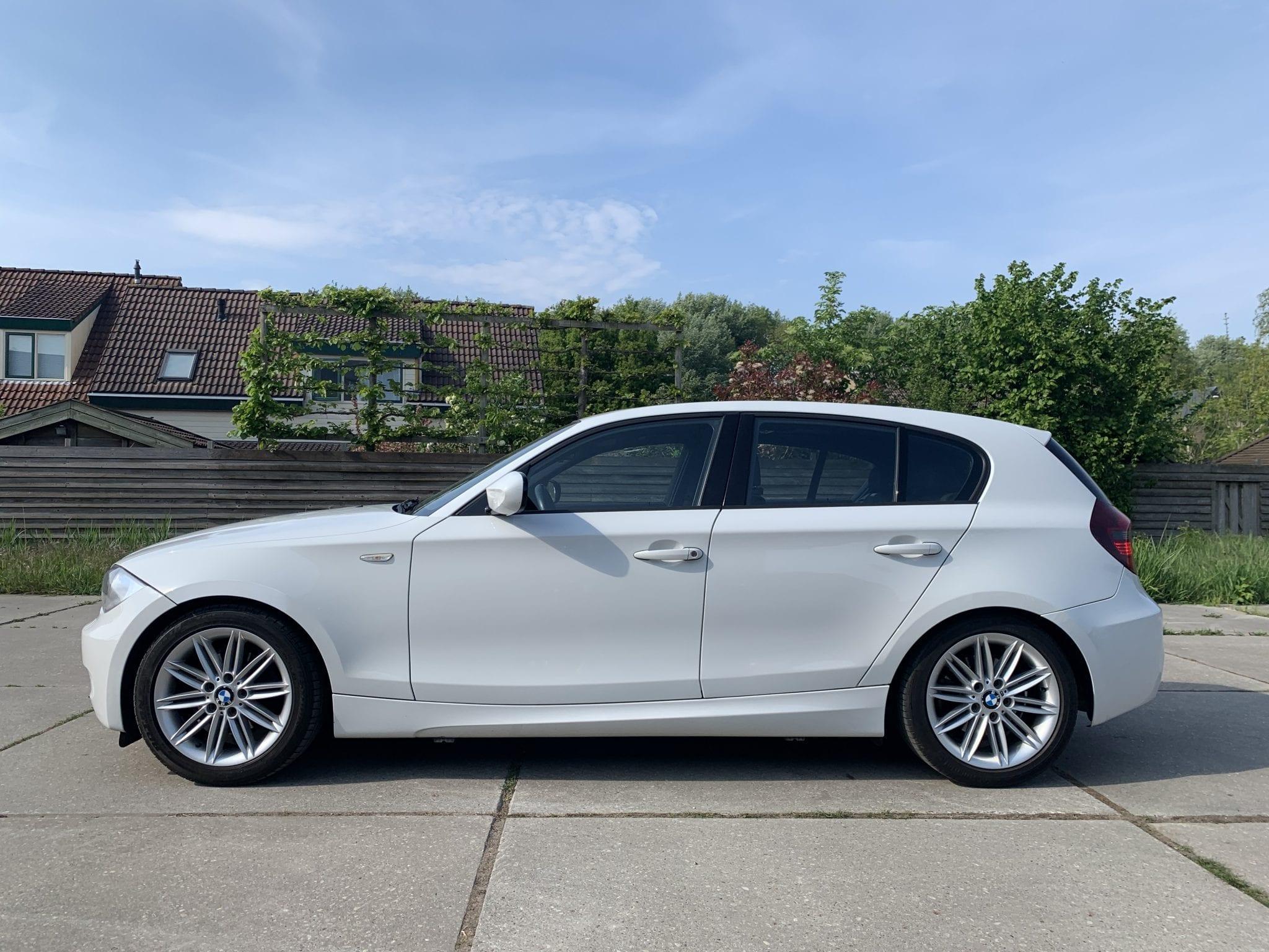 Witte BMW Carwrap | Trim-Line Zevenbergen