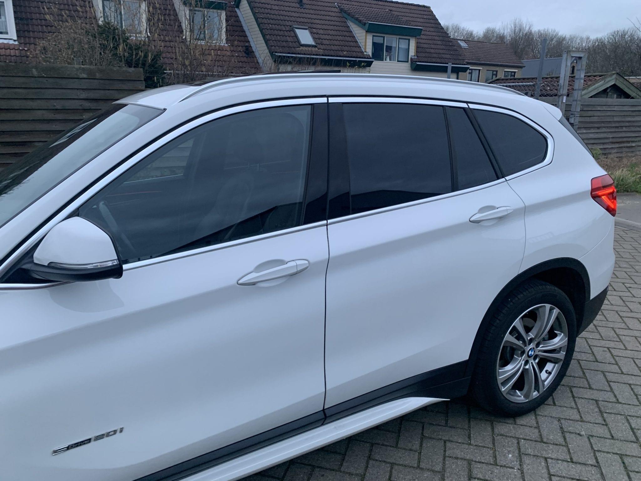 Witte Autowrap | Trim-Line Zevenbergen