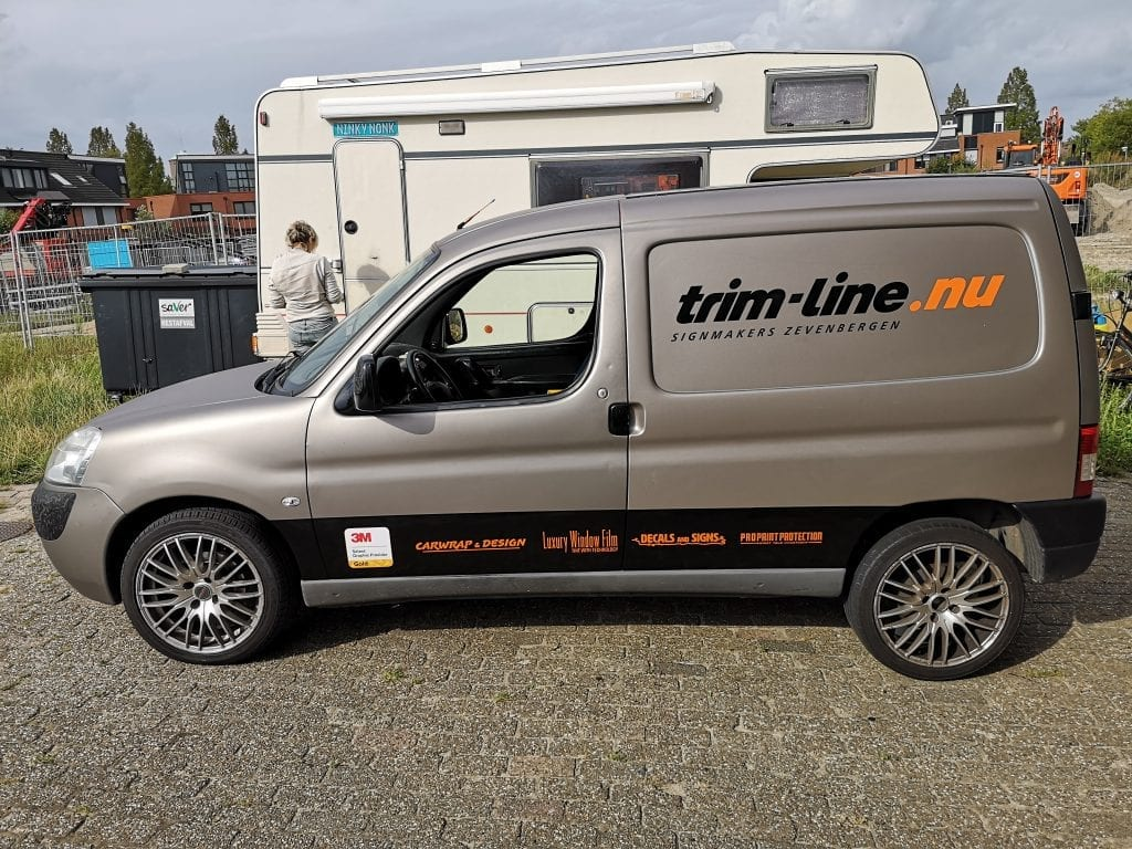 Trim-Line Zevenbergen Bestelbus Wrap