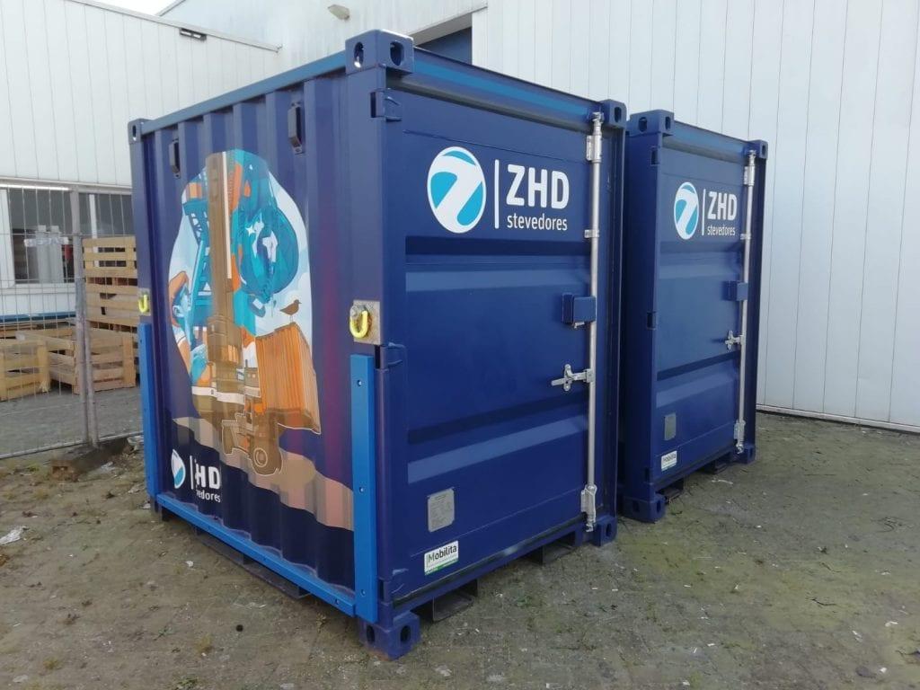 ZHD Container Wrapping | Trim-Line Zevenbergen